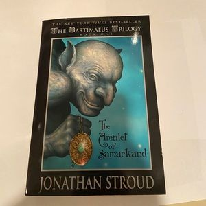 The Bartimaeus Trilogy Jonathan Stroud Book.